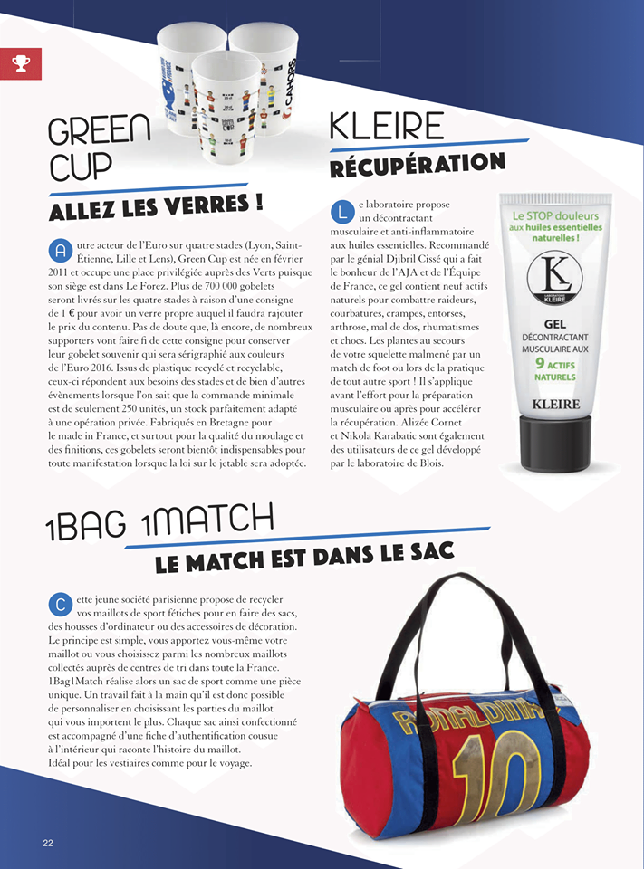 Mag in France Greencup