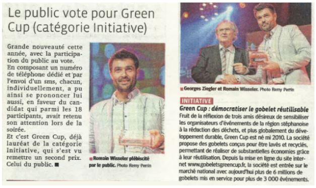 Trophees réussite de la Loire Greencup