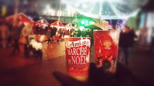 L' éco cup Greencup du marché de Noël d'Amiens